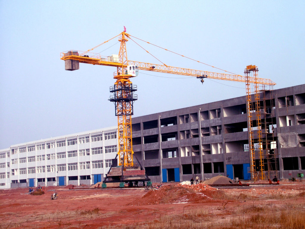 hammerhead tower cranes